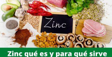 zinc que es para que sirve